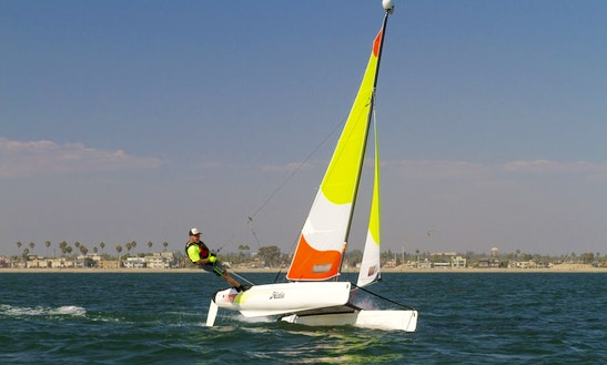 13' Beach Catamaran Rental In Großenbrode, Germany