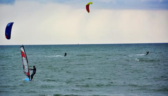 Kite Lessons In Großenbrode, Germany