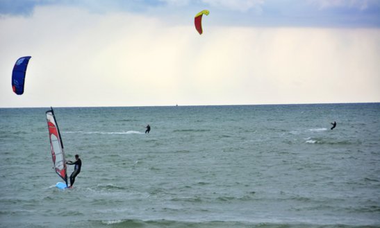 Kiting Lessons In Großenbrode, Germany