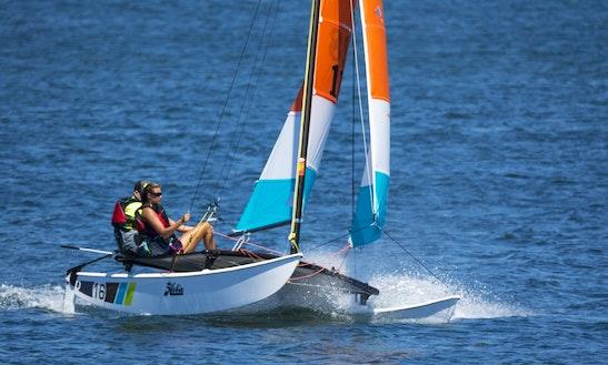 Catamaran Sailing Lessons In Großenbrode, Germany