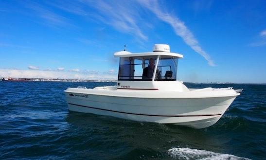 2016 Fisher 21 Cuddy Cabin Boat Rental In Helsingør, Denmark