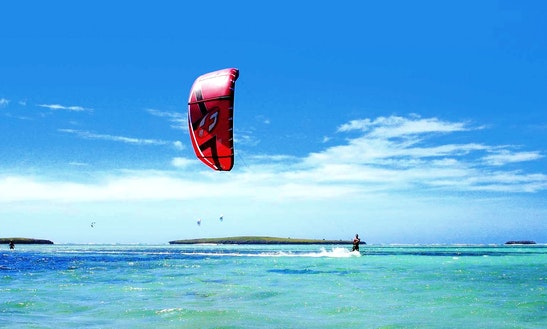 Enjoy Kitesurfing In Antisiranana, Madagascar