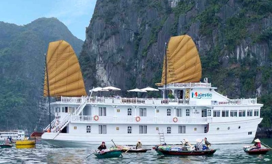 Enjoy Cruising In Thành Phố Hạ Long, Vietnam On 102' Majestic Passenger Boat