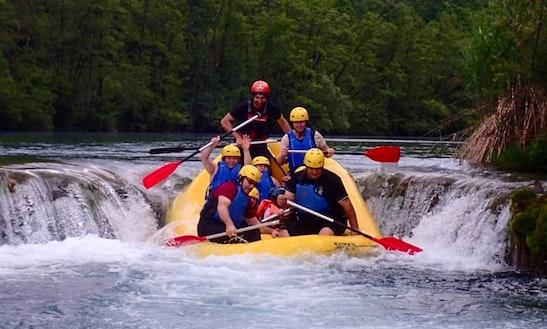 Enjoy Rafting Trips In Karlovac, Croatia