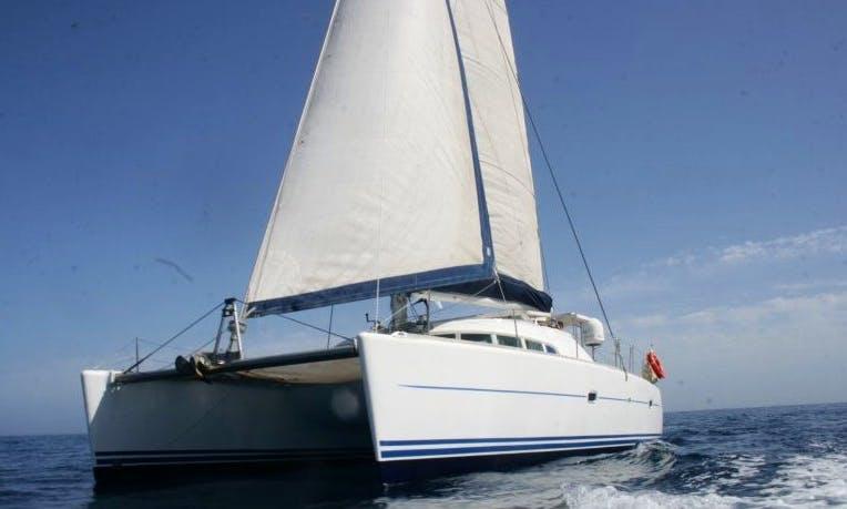 Charter 41' Lagoon Cruising Catamaran in San Pawl il-Baħar, Malta