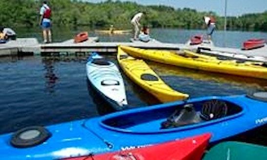 Plastic Double Kayak Rental In Milford, Massachusetts
