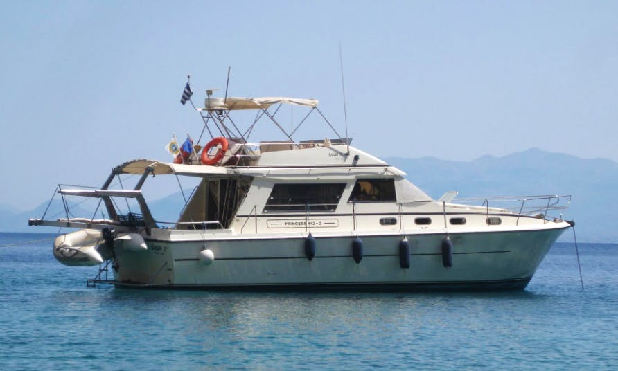 "Charter 41ft ""Princess"" Motor Yacht In Iraklio, Greece"