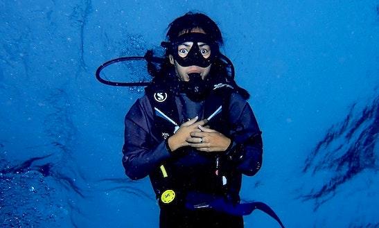 Enjoy Diving In Tambon Khuekkhak, Thailand