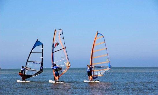 Enjoy Windsurfing In Lochristi, Belgium