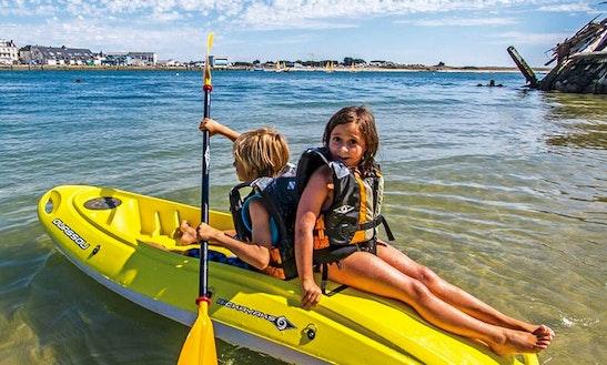 Enjoy Single Kayak Rentals In Novigrad, Croatia