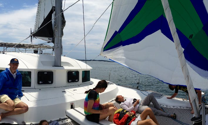 "38ft ""Safari"" Sailing Charters On Chesapeake Bay In Virginia"