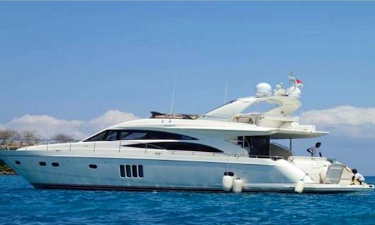 Charter 68' Sakura Em Ll Power Mega Yacht In Kuta Selatan, Indonesia