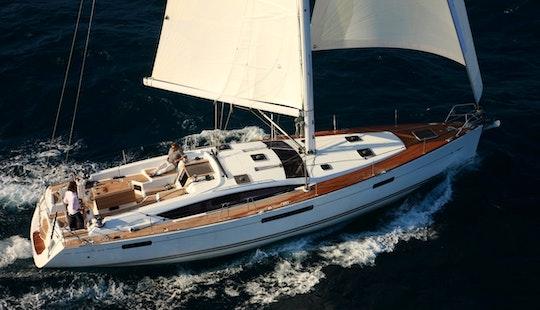 Charter 57' Jeanneau Cruising Monohull In Mugla, Turkey