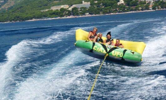 An Amazing Crazy Ufo Rides in Brac, Croatia