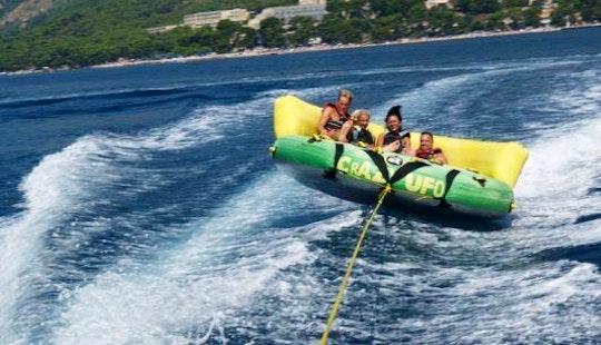 An Amazing Crazy Ufo Rides In Brac, Croatia