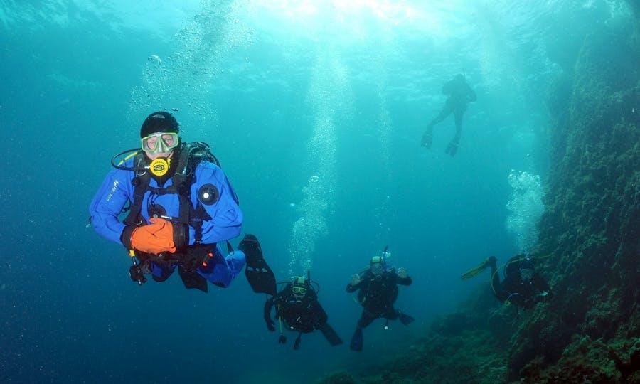 Enjoy Diving Trips & Lessons in Murter, Croatia on 98' Power Mega Yacht