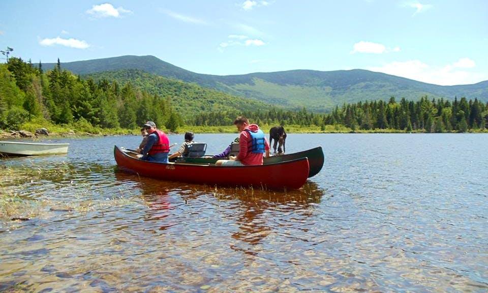 Enjoy Fly In Canoe Trips for 2 People on Moosehead Lake
