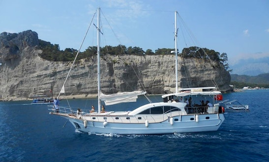Spend Your Holiday On A Gulet Charter In Antalya, Turkey