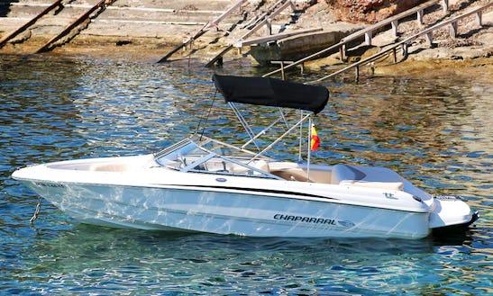 20' Deck Boat Rental In Illes Balears, Spain