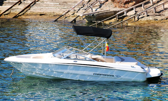 20' Deck Boat Rental In Illes Balears, Spain