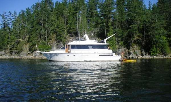Rent a 63' Motor Yacht in Seattle