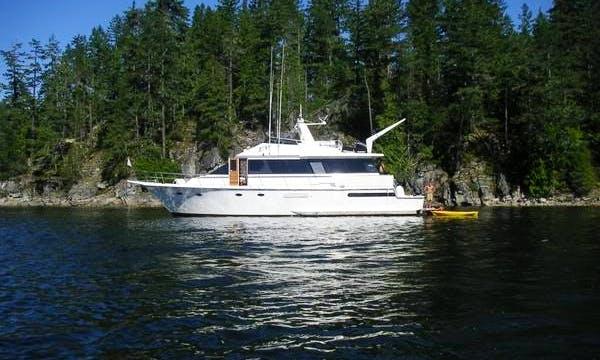 Rent a 63' Motor Yacht in Seattle