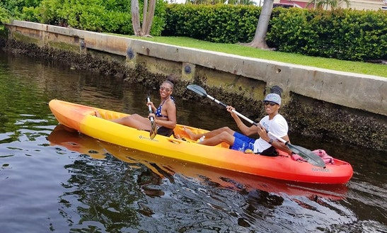 Tandem Kayak Rental In Fort Lauderdale, Florida