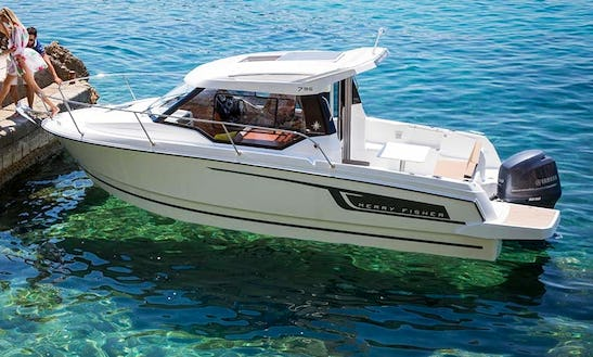 Rent 26' Jeanneau Merry Fisher 795 Cuddy Cabin In Trogir, Croatia