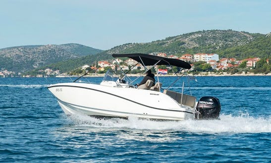 Rent Quicksilver Activ 675 Open Powerboat In Trogir, Croatia