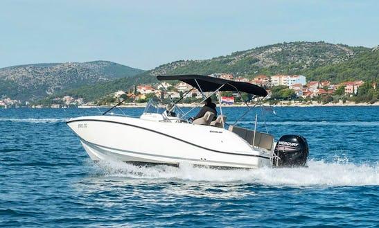 Rent Quicksilver Activ 675 Open Powerboat In Trogir, Croatia