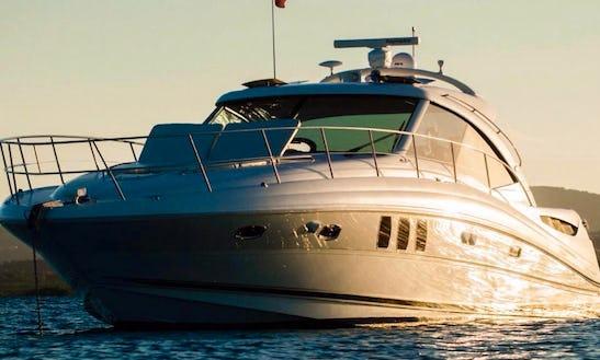 51' Luxury Motor Yacht - Crewed Charter In St. John's, Antigua And Barbuda