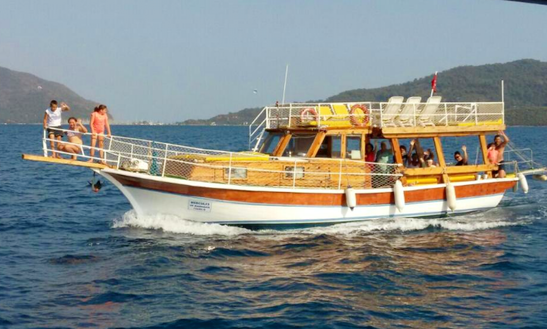 Amazing Cruising Gullet For Charter Out Of A Muğla, Turkey For 1,420 Try Per Day