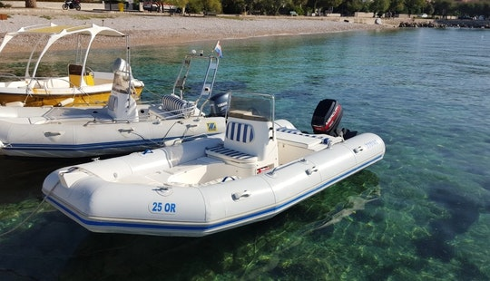 Rent A 16' Zodiac Medline Rib In Orebić, Croatia For Your Next Adventure
