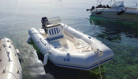 Beautiful 16' Zodiac Medline Rib Rental In Orebić, Croatia