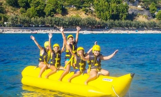 Enjoy Banana Boat Rides In Orebić, Croatia