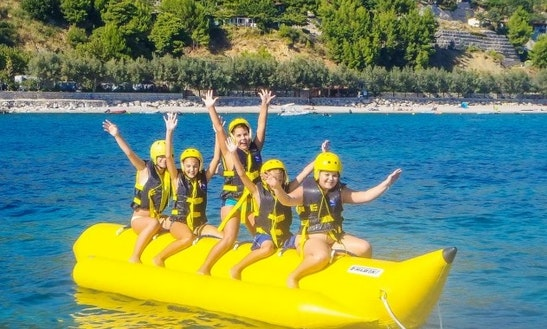Enjoy Banana Boat Rides In Orebić, Croatia