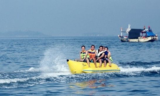 Enjoy Banana Rides In Jatiasih, Indonesia