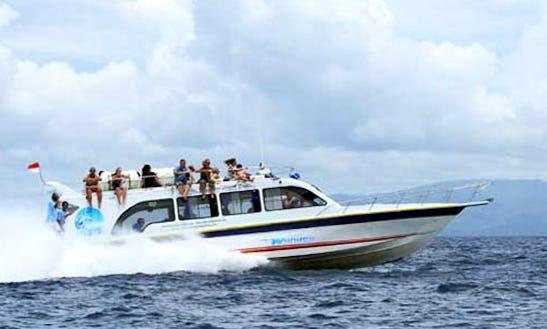 Enjoy Sightseeing In Kuta, Bali On Wahana Gili Ocean Motor Yacht