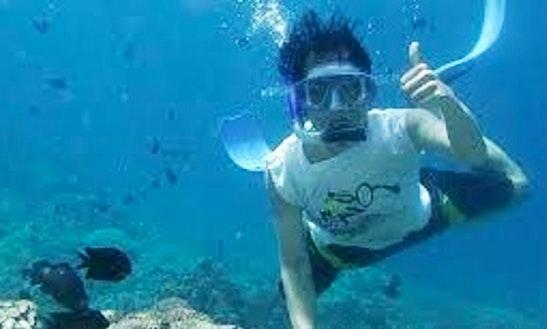 Enjoy Snorkeling In Jatiasih, Indonesia
