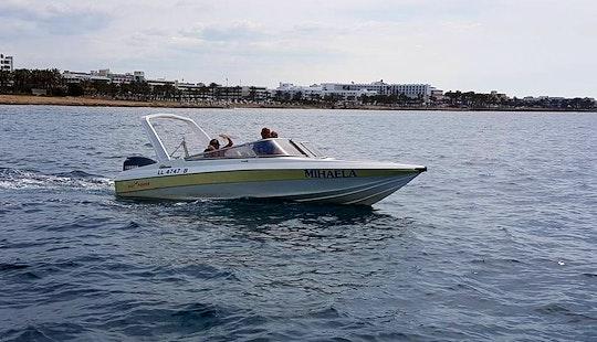 Rent Mihaela Motor Boat In Paphos, Cyprus