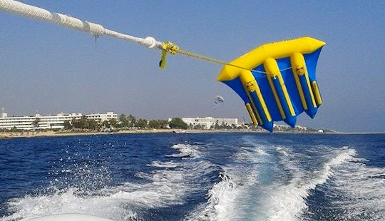 Fun Fly Fish Rides In Paphos, Cyprus