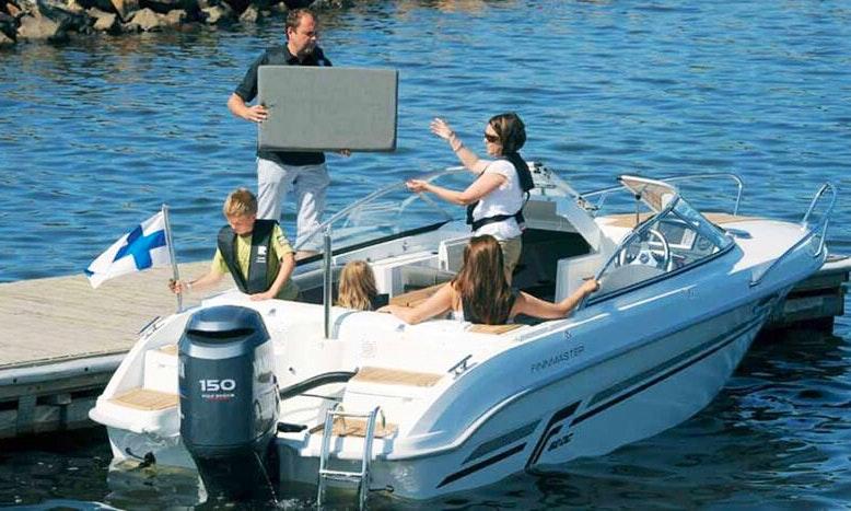 Rent 20 Finnmaster 62 Dc Cuddy Cabin In Zadar Croatia
