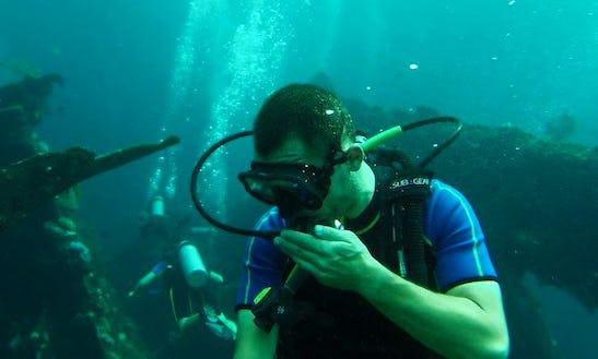 Enjoy Diving Courses In Tarumajaya, Indonesia