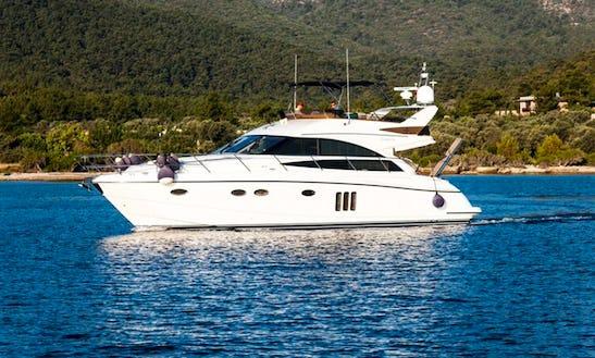 Charter 54' Princess Power Mega Yacht In Muğla, Turkey