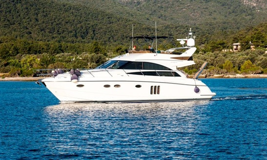 Charter 54' Princess Power Mega Yacht In Muğla, Turkey