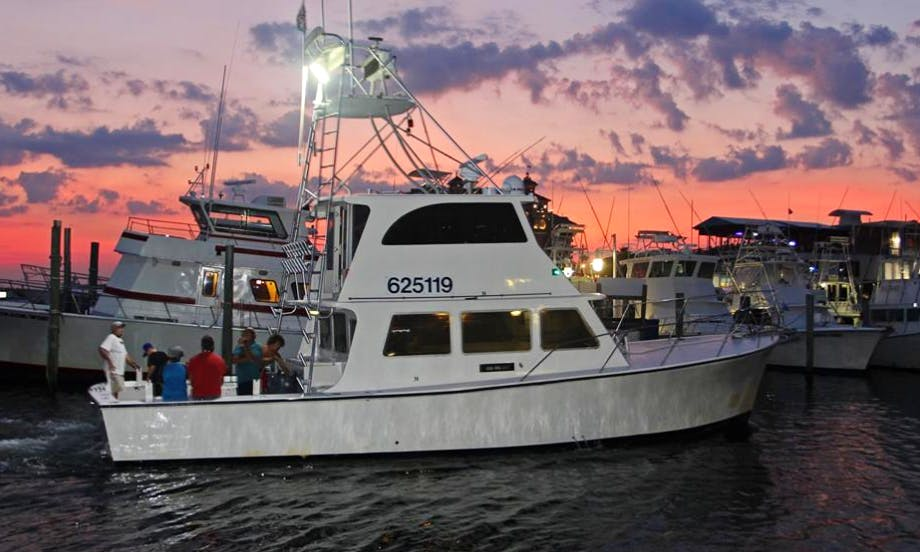 "Fishing Charter 45ft ""Sea Fix"" Sportfisherman Yacht In Destin, Florida"