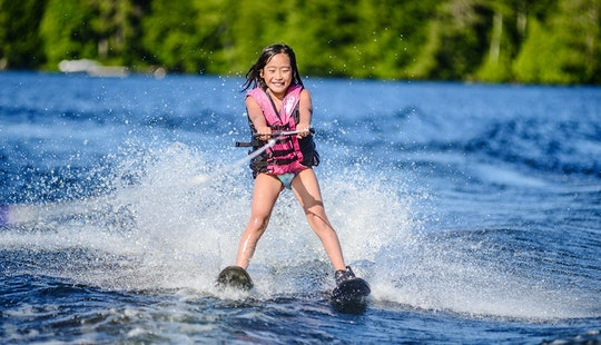 Enjoy Water Skiing In Pulau Pangkor, Malaysia