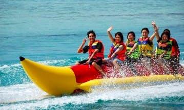 Enjoy Banana Rides in Tanjung Bungah, Malaysia