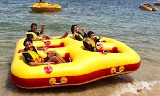 Enjoy Donut Rides In Tanjung Bungah, Malaysia