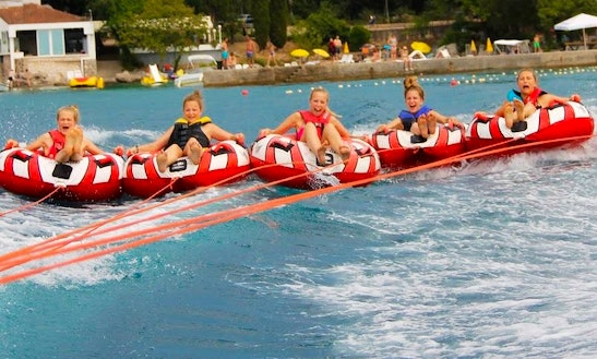 Enjoy Tubing In Njivice, Croatia